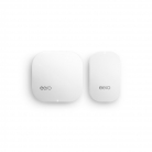 eero Home WiFi System (1 eero + 1 eero Beacon) – Simple, powerful TrueMesh network technology, Gigabit Speed, WPA2 Encryption, Replaces Wireless Router, works with Alexa (2nd Generation)