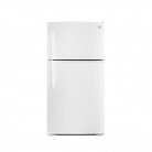 Kenmore 61212 20.8 cu.ft. Top-Freezer Refrigerator with LED Lighting in White, includes delivery and hookup (Available in select cities only)