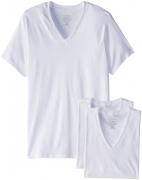 Calvin Klein Men's Undershirts Cotton Multipack V Neck Tshirts