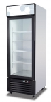 Migali C-23RM Competitor Series Refrigerator Merchandiser, 27″ W, 23.0 cu. ft. Capacity, 1 Hinged Glass Door, White Sides/White Interior/Black Front