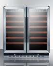Summit SWC3066 Wine Chiller Beverage Refrigerator, Glass/Black